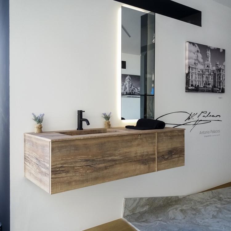 lavabo madera Stocco 1